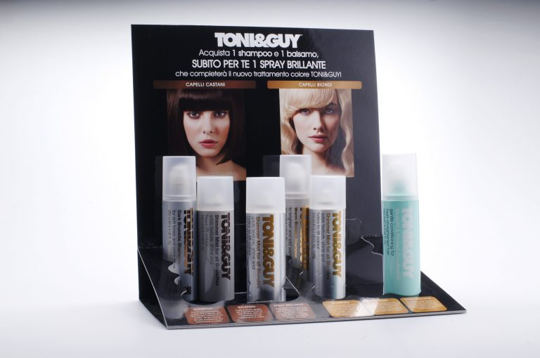 Espositore da banco Toni&Guy